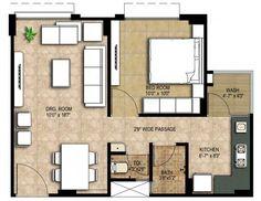 Solana beach california homes floor plans solana for 650 sq ft apartment floor plan