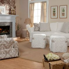 Slipcover Furniture Four Seasons Sofa Throw Cover Diy Covers