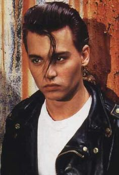 """First time ever I saw your face...""   Crybaby was the first time I saw Johnny Depp at the age of 12. It was love at first sight."