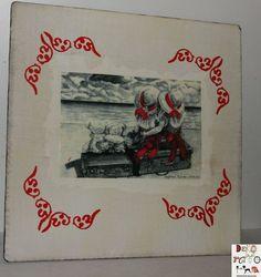 Podkładka pod talerz, drewniana w Dekoratorka na DaWanda.com