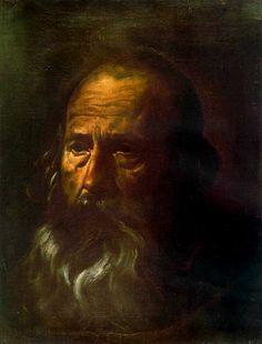 Diego Velázquez (1599–1660)    St Paul  TitleEspañol: Velázquez: Cabeza de apóstol. Sevilla,