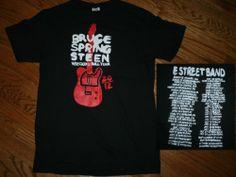 New Bruce Springsteen 2012 Wrecking Ball Tour Concert T-Shirt-Men's Medium-Boss