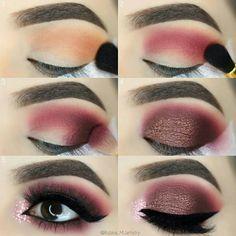Eye Makeup Tips – How To Apply Eyeliner Eye Makeup Tips, Makeup Goals, Skin Makeup, Makeup Inspo, Makeup Inspiration, Beauty Makeup, Makeup Ideas, Eyeshadow Ideas, Glitter Eyeshadow