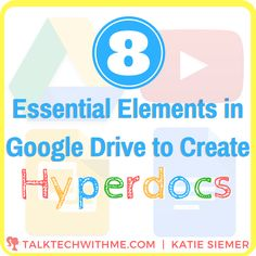 To create an appealing Hyperdoc, you& need to know how to do more than hyperlink text and insert images. Below are 8 elements that you will want to Teaching Technology, Educational Technology, Technology Tools, Educational Activities, Digital Literacy, Digital Storytelling, Instructional Technology, Instructional Strategies, Problem Based Learning