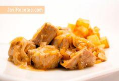 Mira que atún encebollaito más rico para almorzar mañana. ¿Te animas con la #receta?   http://www.javirecetas.com/atun-encebollado/