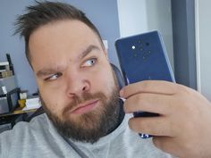 The Nokia 9 PureView is a great mid-level smartphone, with a striking and obvious camera array, and standard Android Pie operating system.