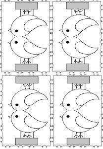 Karmnik i ptaki z papieru – Przedszkolankowo