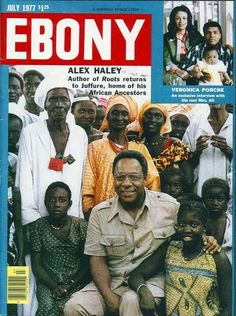 Alex Haley, Author of Roots, returns to home of his African Ancestors...