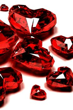 Ruby Gemstones Ruby hearts ♥♥♥♥ ❤ ❥❤ ❥❤ ❥♥♥♥♥ Do you like gemstone? Ruby Gemstones Flawed diamonds reveal the Wallpaper Iphone5, Lizzie Hearts, Red Hearts, Cool Winter, My Favorite Color, My Favorite Things, Simply Red, Valentine's Day, Red Aesthetic