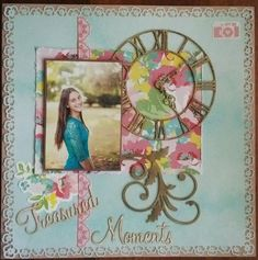 This layout if for the July challenge Scraplift the person before you. My Scrapbook, Scrapbooking, In This Moment, Gallery, Challenge, Frame, Layouts, Home Decor, Ideas