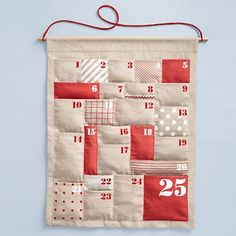 i would love to have a plush advent calendar to hide tiny gifts and sweet treats… Christmas Sewing, Christmas Love, Homemade Christmas, Christmas Projects, All Things Christmas, Holiday Crafts, Holiday Fun, Christmas Holidays, Christmas Decorations