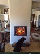 Kernow Fires Stuv doublesided woodburner installation wood burning stove installation in Cornwall. Standing Fireplace, Stove Fireplace, Fireplace Ideas, Fireplace Design, Gas Fireplaces, Modern Fireplaces, Traditional Fireplace, Traditional House, Double Sided Stove