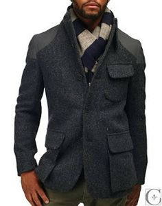 EMM (pronounced EdoubleM): NIGEL CABOURN Mallory Harris Tweed Jacket AW11