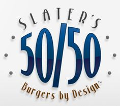 Slater's 50/50 Burgers by Design.  In Anaheim, Huntington Beach, and San Diego.  Saw this on the travel channel and want to try it out.  Bacon Bacon Bacon!
