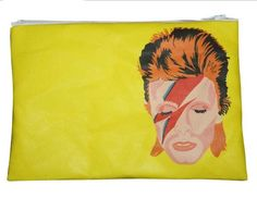 Bowie Icon Zip Bag