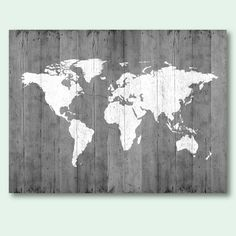 map of the world map poster download gray world map wood texture printable large size wall art decor digital print instant download 18x24