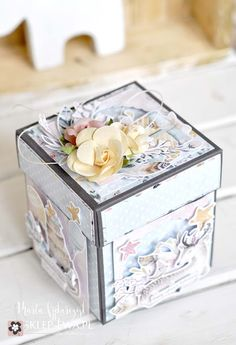 MyArt - Marta: Dekoracyjne pudełko