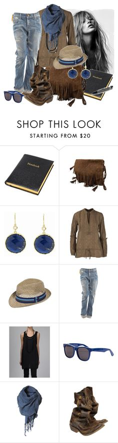 """""""untitled"""" by missjln ❤ liked on Polyvore featuring One Teaspoon, Irene Neuwirth, Dorothy Perkins, Aerie, G-Star Raw, ACB, RetroSuperFuture, Golden Goose and Mont Blanc"""