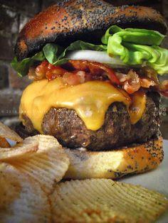KAC BACON CHEESEBURGER | with Signature Burger Sauce | FOR KRISTEN | PHUDE-nyc | Food. Photos. 'Tude.