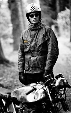 #BARBOUR Men's International Motorcycle #Jacket #vintage