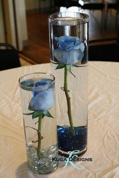 Underwater rose
