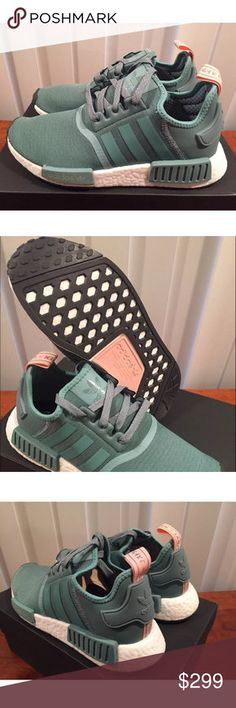 512f1adc34a78 Adidas NMD R1 Vapour Steel Green Pink Wmns 7 BNIB! BNIB 100% Authentic  Adidas NMD R1 Vapour Steel Green Pink Wmns Size 7 Sold Out Worldwide!