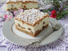 Ala piecze i gotuje: Sernik biały puch na białkach Nutella Cheesecake, Cheesecakes, Tiramisu, French Toast, Sweet Tooth, Muffins, Recipies, Sweets, Cookies