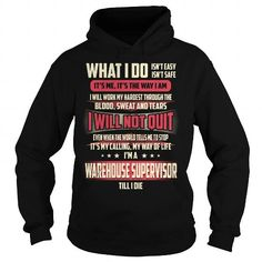 Warehouse Supervisor We Do Precision Guess Work Knowledge T Shirts, Hoodies. Get it now ==► https://www.sunfrog.com/Jobs/Warehouse-Supervisor-Job-Title-T-Shirt-Black-Hoodie.html?41382 $39.99