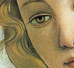 The Birth of Venus (detail) - Sandro Botticelli, 1483
