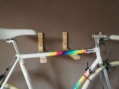 IKEA Hack - FROSTA bike wall mount