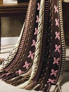 Free Crochet Neapolitan Throw Pattern