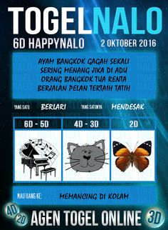 Syair Paito Togel Wap Online Live Draw 6D Kupon HappyNalo 2 Oktober 2016