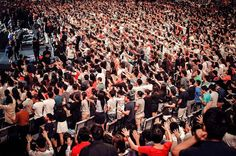 What an anointed service we had yesterday! Bishop Dick Bernal prayed for the CHC staff & CGLs ...