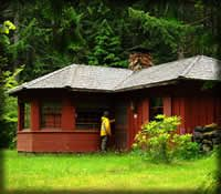 Hamma Hamma Cabin - this one looks great, too!  Maybe with friends?