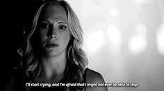 The vampire diaries - Caroline about Bonnie's death ; Tvd Quotes, Quotes Gif, Movie Quotes, The Vampire Diaries 3, Vampire Diaries Quotes, Vampire Diaries The Originals, Caroline Forbes, The Cw, Forbes Quotes