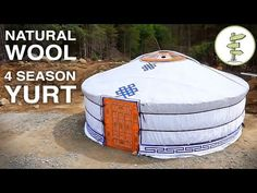 The Traditional Yurt: A Beautiful & Low Cost Tiny House Alternative - YouTube