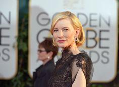 Golden Globes Baby Bump Photos, Young Actresses, Vogue Australia, Cate Blanchett, Shoulder Length Hair, Red Carpet Looks, Golden Globes, Fancy Dress, Short Hair Styles