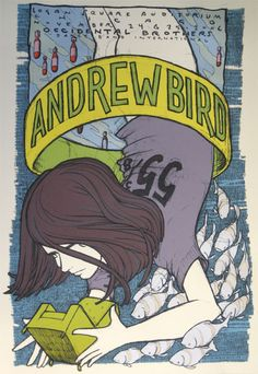 GigPosters.com - Andrew Bird - Occidental Brothers