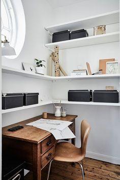 Workspace furniture office interior corner office desk Elegant Serene Offices We Wouldnt Mind Working In the Edit Pinterest 345 Best Home Workspace Images Homes Living Room Houses