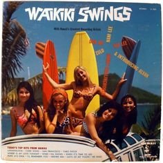 Waikiki Swings..perfect record for a tiki-surf party!