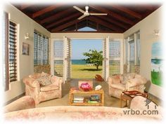Discovery Bay, Jamaica.  Only 1 hour away from the Montego Bay airport, this lovely #Caribbean #villa has one and a third acres of private flat fruited land, sprinkled with #tropical flowers and coconut palms, and commands 200 feet of private #beach.  The unassuming staff of 4 (included in the regular price) provide royal service, tend to your every need, and disappear upon request.  Come visit us at #CaribbeanEscapeNow.com for more information on one of our most popular #villas in #Jamaica.