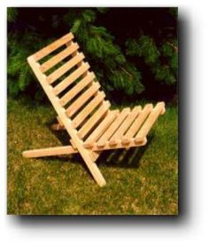 21-512 - Folding Civil War Camp Chair Woodworking Plan - Woodworkersworkshop®…