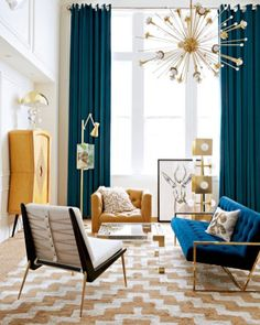 Amazing mid-century modern living room design ideas 38