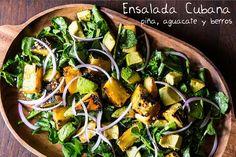 Para los amantes de las ensaladas, perfecta combinación para comer como plato fuerte o acompañando a un platillo.