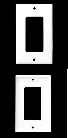 switch plates and outlet covers lutron cw1wh6 claro 1gang wall plate 6 pack white u003e buy it now only on ebay