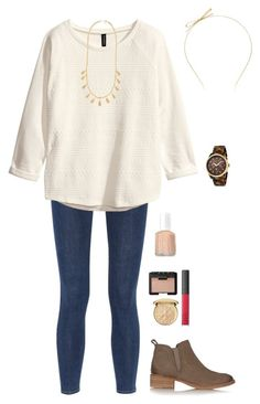 """""""School Days"""" by sc-prep-girl ❤ liked on Polyvore featuring Kate Spade, rag & bone, H&M, Tory Burch, Ann Taylor, NARS Cosmetics, Essie, Christian Dior and Michael Kors"""