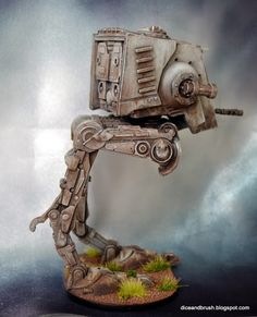 Dice and Brush: Miniature Monday: AT-ST from Star Wars Imperial Assault