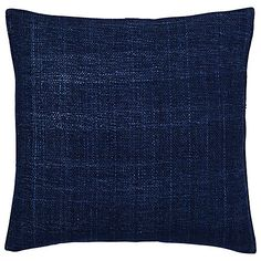 Buy Nightshade west elm Silk Hand Loomed Cushion from our Cushions range at John Lewis & Partners. Rural India, Cushions Online, West Elm, Loom, Hands, Pure Products, Silk, Beautiful, Slate