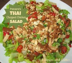 Panera Bread Thai Chicken Salad