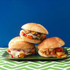 How about this for a meat substitute: Eggplant Sloppy Joes!